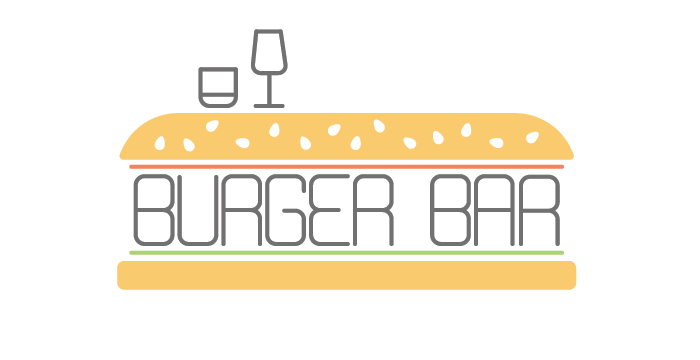 Burger Bar logo design by Barefaced Design