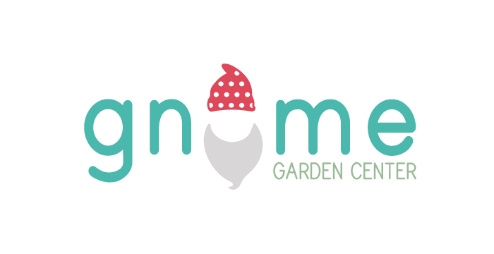 Gnome Garden Center logo design by Barefaced Design