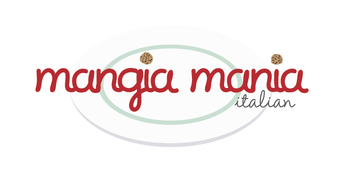 Mangia Mania logo by Barefaced Design