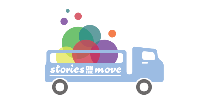 Stories on the Move Logo