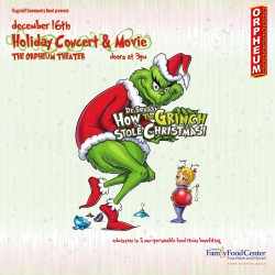 Free Holiday Concert & Movie