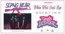 Sleeping Bear with Enemy In I, Dawn of the Desolate
