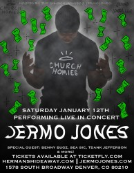 Jermo Jones with TDank Jefferson, Benny Bugz