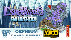 The Expendables with Ballyhoo!, Kash'd Out