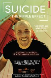 """An Evening of Hope & A Celebration of Life with Featuring the Film: """"Suicide: The Ripple Effect"""""""