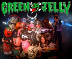 Green Jell with Headless Pez, Alfredo Ghosts, ChaseNSkwerlls Sideshow