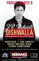 J. R. Richards (DISHWALLA) with Rooster (Alice In Chains), The Swifts, Stony Lonesome, WORLDVIRAL.tv, Bands4Bands Entertainment LLC