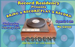 Record Residency