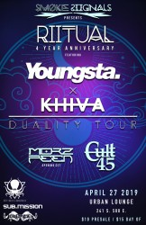 RIITUAL 4 Year Anniversary Party with Youngsta, KHIVA, MorzFeen, Cult 45