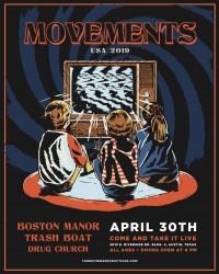 Movements with Boston Manor, Trash Boat, Drug Church