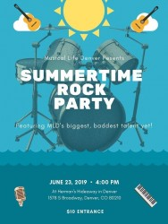 Summertime Rock Party (Live Music) with MLD