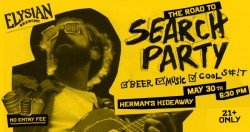 The Road to Search Party with Elysian Brewing Company, Fabulous Boogienauts, Ninety Percent 90's