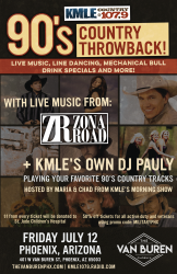 KMLE Country 90's Throwback