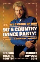 90s Country Dance Night