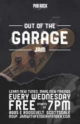 Out Of The Garage *Jam Night