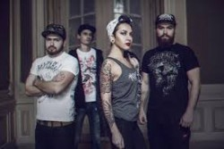 Jinjer with The Browning, Death of a Dream, AAerial