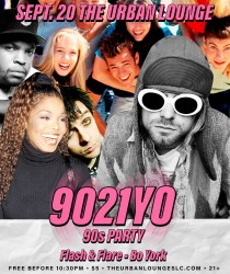 9021YO: 90s Dance Party with Flash & Flare, Bo York