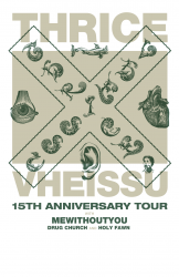 Thrice with mewithoutYou, Drug Church, Holy Fawn